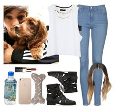 """""""Day with Louis. -----> *Cynthia."""" by imaginegirlsdsos ❤ liked on Polyvore featuring Topshop, Jeffrey Campbell, Bobbi Brown Cosmetics, Mutts & Hounds, Monki and Wet Seal"""