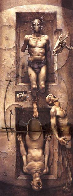 Surrealism and Visionary art: John Jude Palencar
