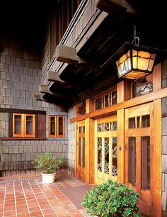 """The Gamble House in Pasadena by architects Greene & Greene is one of their """"Ultimate Bungalows."""" Photo by Douglas Keister."""