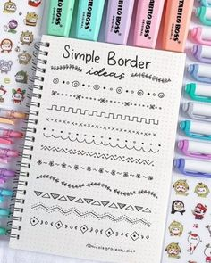 bullet journal ideas ~ bullet journal - bullet journal ideas - bullet journal layout - bullet journal inspiration - bullet journal doodles - bullet journal weekly spread - bullet journal how to start a - bullet journal ideas layout Bullet Journal School, Bullet Journal Dividers, Bullet Journal Headers, Bullet Journal Banner, Bullet Journal Writing, Bullet Journal Aesthetic, Bullet Journal Ideas Pages, Bullet Journal Inspiration, Bullet Journals