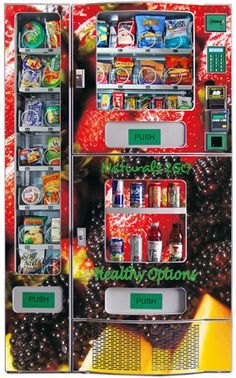 Naturals 2 go.  A healthy vending business.