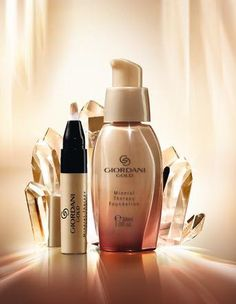 Giordani Gold Mineral Therapy Concealer & Foundation by Oriflame http://my.oriflame.pt/cascaisoriflame