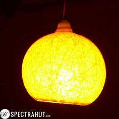Buy Hanging String Pendant Designer Lamp Shades - Big Round from Spectra Hut at lowest price. Hanging Lamp Shade, Hanging Ceiling Lights, Ceiling Lamp Shades, Ceiling Lamps, Diwali Lamps, Diwali Lights, Christmas Lamp, Christmas Lights, Lampshade Designs