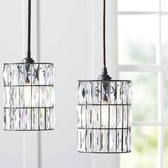 kitchen island pendant lighting crystal - Google Search