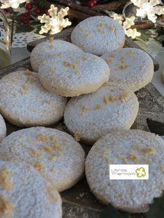 Mantecados de Almendra con Thermomix Thermomix Desserts, No Bake Desserts, No Bake Energy Bites, Mantecaditos, Plum Cake, Pan Dulce, Shortbread Cookies, Sin Gluten, Macarons