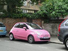 Pink. Fiat.
