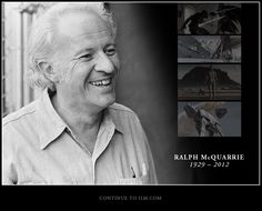 Fantastic artist Ralph McQuarrie. Imagination has no boundaries.