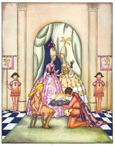 from Chimney Corner Stories: Tales for Little Children (c) 1925 illustrated by Lois Lenski