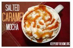 """"""" Salted Caramel Mocha""""☕️ #Food #Drink #Trusper #Tip"""