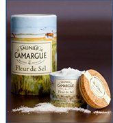 Le Saunier De Camargue Fleur De Sel (Sea Salt), 4.4 oz. Many don't realise that completely unprocessed, natural sea salt is actually good for you and can lower blood pressure! Fleur de sel makes so many things taste divine... especially caramel!