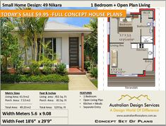 Small House Plan 45 Elton 537 Sq Foot ( ) 1 Bedroom home design - Small and Tiny House Plans - Concept House Plans For Sale - Small House Plan 45 Elton 537 Sq Foot 1 Bedroom House Plans For Sale, Cabin House Plans, Simple House Plans, Best House Plans, Tiny House Plans, Modern House Plans, The Plan, How To Plan, Duplex Floor Plans