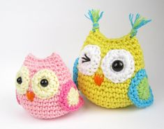 Free Pattern - Small Owl  ☀CQ #crochet #crafts #DIY.  Thank you for sharing! ¯_(ツ)_/¯
