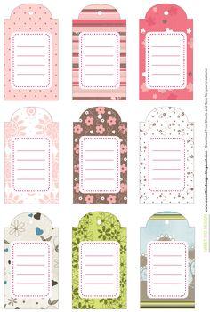 Sweet Bio design: Set Targhette!!! - Tags Set!!!