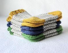 KNITTING PATTERN / William's Baby Socks / knit sock pattern / baby sock pattern / striped sock pattern Sizes 0-24 mos / Striped Baby Socks