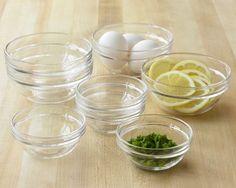 glass prep bowls