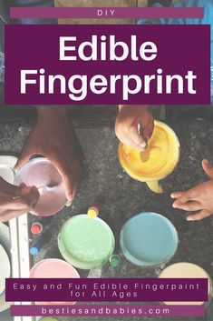 Craft Projects For Kids, Kids Crafts, Diy Projects, Edible Finger Paints, Educational Activities For Toddlers, Kids And Parenting, Parenting Blogs, New Parent Advice, Baby Development