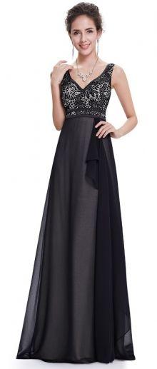 Ever-Pretty plesové šaty Půlnoční kráska, černé