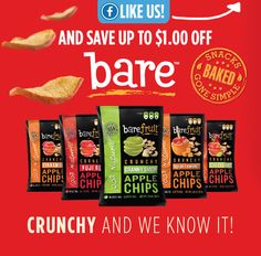 $1/2 Bare Fruit Apple Chips Coupon