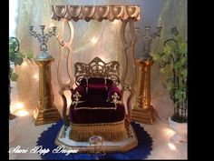 One of a Kind Throne Chair and Display for by ShariDeppDesigns, $299.00
