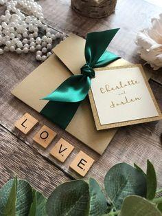 Alternative Wedding Inspiration, Bespoke Wedding Invitations, Bespoke Design, Autumn Wedding, Green And Gold, Poppy, Color Schemes, Stationery, Gift Wrapping