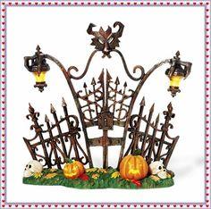 Department 56 Halloween Village Gothic Gate