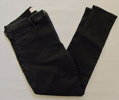Gap 1969 Easy Legging Jean 33 Black Stretch skinny Jegging Denim Jeans 2016  #GAP #LeggingsSlimSkinny