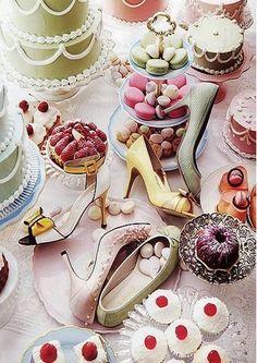 Fashion tea party
