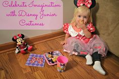 Celebrate Imagination with Disney Junior #JuniorCelebrates #shop #collectivebias  Minnie Mouse Halloween Costume Disney