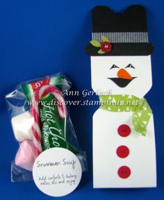 Envelope Punch Board Snowman Soup | Discover Ink – Ann Gerlach Independent Stampin' Up!® Demonstrator
