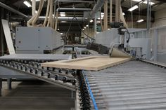 We have configured our production line to make sure jobs are always running smoothly.