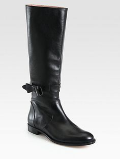 red valentino boots with a bow!