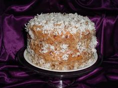 Butter Pecan Cake......Made with butter pecan or yellow cake mix, vegetable oil, water, pecan coconut frosting, eggs, pecans