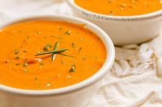 Tomato Parmesan Slow Cooker Soup crock pot vegetarian