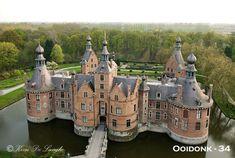 Kasteel Ooidonk in Oost Vlaanderen, Fotogeniek België