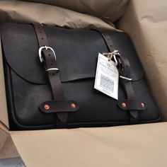 Emil Erwin leather bag