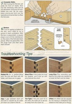 Cutting Box Joints - Joinery
