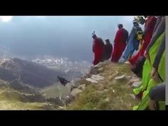 Base Jumping in the North of Iran (Group Jump)