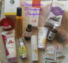 Bloganniversaire lot de produits de beauté avec Beautytricks