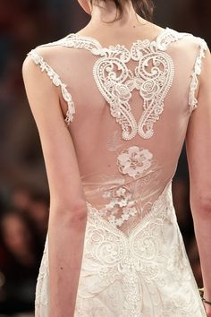 Claire Pettibone 'ALMA' wedding gown
