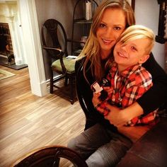 @ajcookofficial: My ADORABLE scene partner for the day. #JJ&Henry
