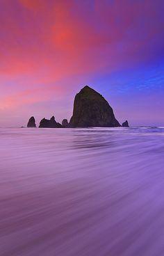 Oregon Coast Sunrise - Cannon Beach, Oregon