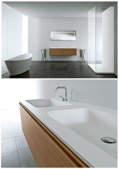 A #versatile and #surprising line… ALL #bathroom collection » www.signweb.it/prodotti/all/ ___ #design #interiordesign