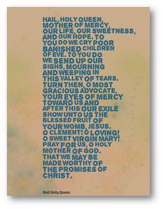 hail holy queen prayer pdf