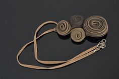 $31.66 Zipper necklace by GlamourAndBrilliance on Etsy