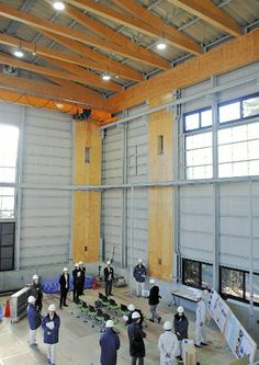 住友林業が建設した実験用の「木造ビル」