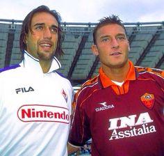 Gabriel Batistuta & Francesco Totti #9ine
