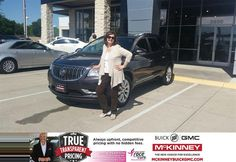 Congratulations To Lelia Dianne Elkins On Your Buick Enclave
