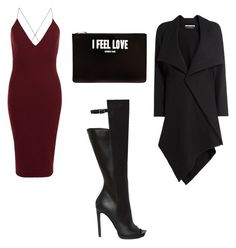 Girls Night by thexfirm on Polyvore featuring polyvore, fashion, style, AX Paris, Roland Mouret, Shoe Cult, Givenchy and clothing