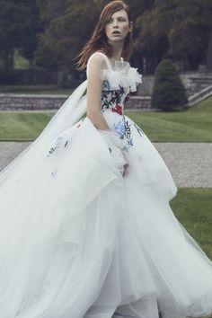 Colorful Wedding Dresses That Make a Statement Down the Aisle 7e10de19dfbd