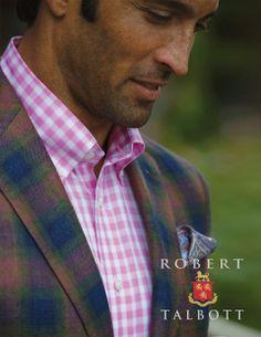 Men's Clothing Medium The Cheapest Price Nwt Robert Talbott Carmel Blue Striped Sport Shirt